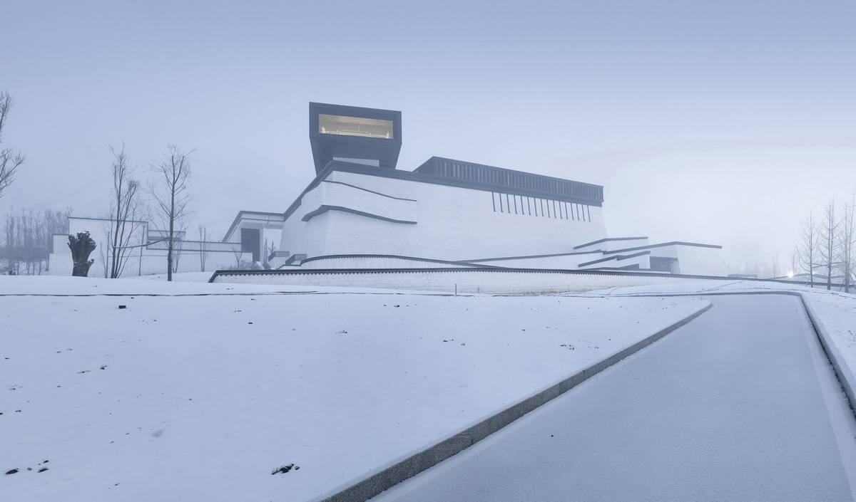 西藏非物质文化遗产博物馆建筑设计